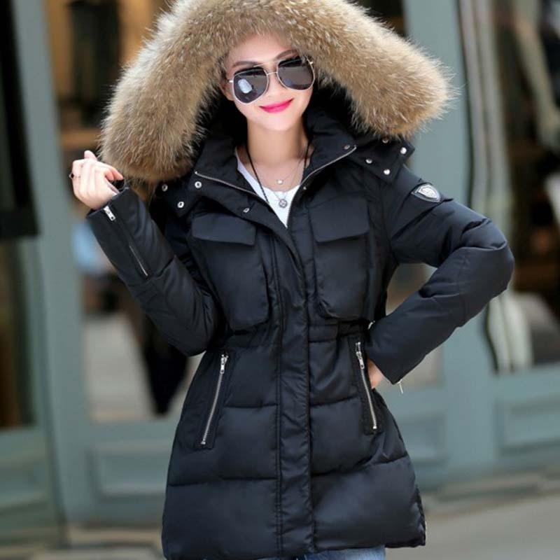 Aliexpress.com : Buy Plus Size New Winter Women Jacket Long Down