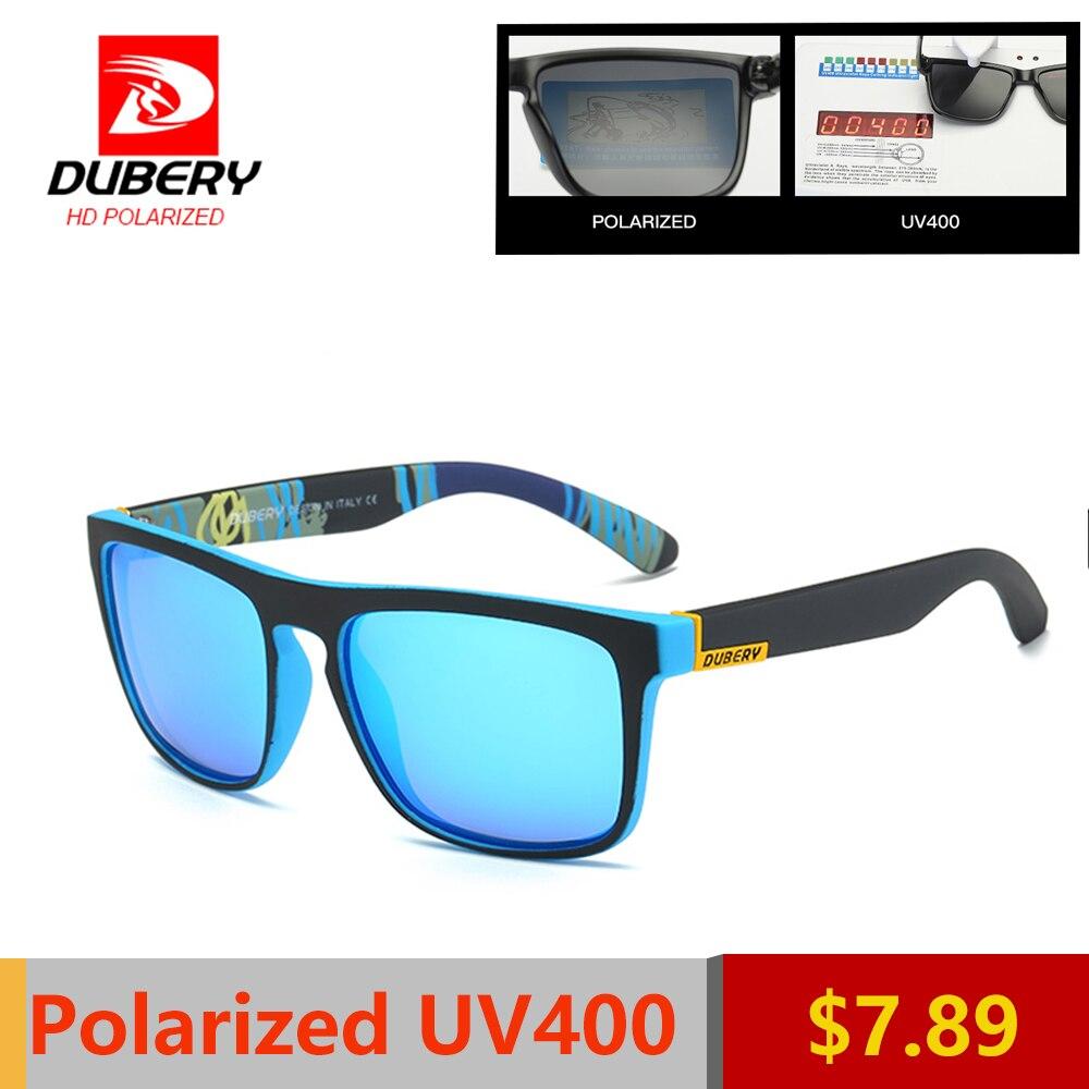 DUBERY Shades Óculos de Sol Do Vintage Do Sexo Masculino Polarizada Óculos  De Sol Dos Homens 6e1617c6a5