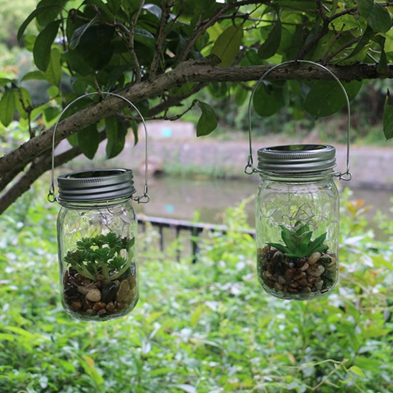 Led Fairy Light Solar For Mason Jar Lid Insert Color Changing Garden Decor 2017 Hot Sale Christmas Lights Outdoor Wedding Decor