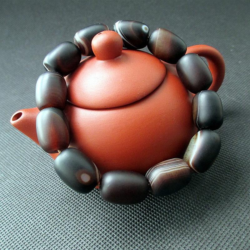 JoursNeige Φυσικό Sardonyx Κρυστάλλινο - Κοσμήματα μόδας - Φωτογραφία 3