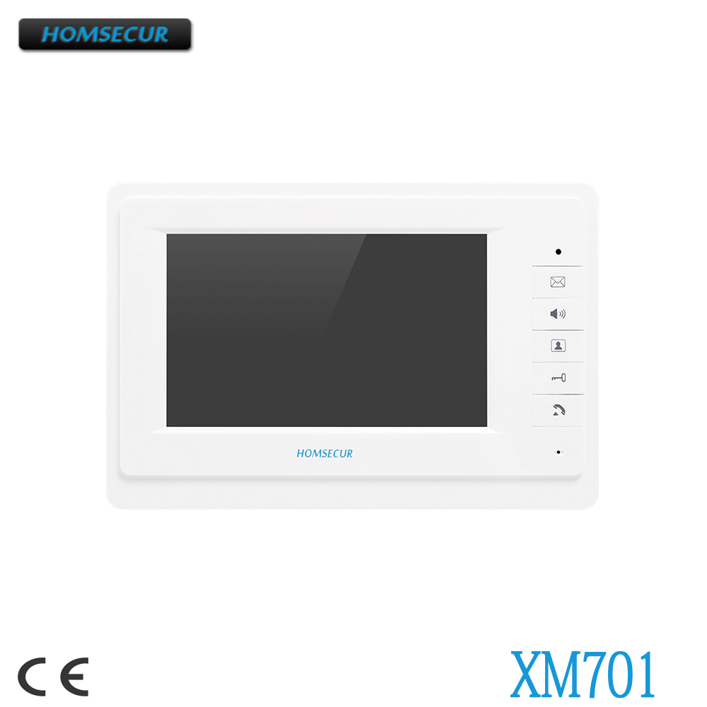 все цены на HOMSECUR XM701 7inch Indoor Monitor For Video Door Phone Intercom System онлайн
