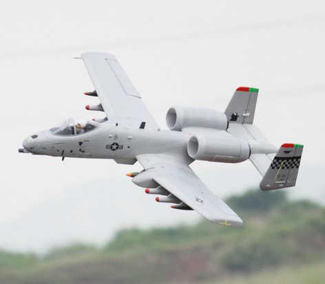 Freewing epo a10 a 10 64ミリメートルedfジェットrc航空機|rc ...