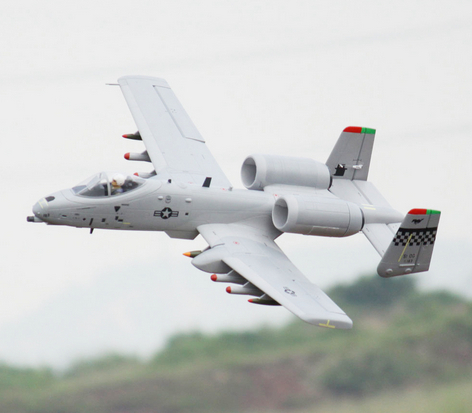 Freewing EPO A10 A-10 64 мм EDF Jet RC Aircraft