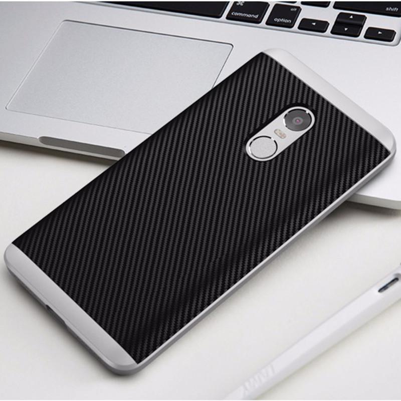 For Xiaomi Redmi Note 4 Case Luxury 2 IN 1 Hybrid Hard PC Dual Layer Bumper and Silicone Back Cover For Xiaomi Redmi Note 4 Pro