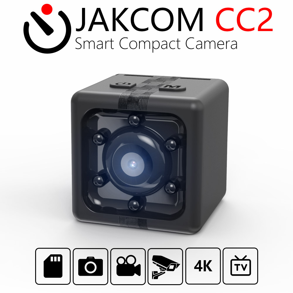 JAKCOM CC2 caméra compacte intelligente offre spéciale en Mini caméra as 360 panoramique Sport soutien TF carte Vision nocturne