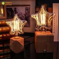 Decorativi Vintage luce lampadina E27 Mini/Grande star lampada retro 220V 40W edison della lampadina per la casa/ camera da letto/soggiorno industriale decor