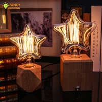 Vintage decorative light bulb E27 Mini/Big Star lampada retro 220V 40W edison bulb for home/bedroom/living room industrial decor