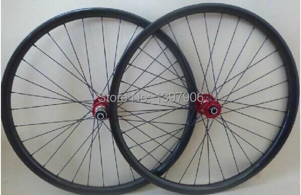carbon wheelset mountain bikes 27.5er 25*300mm OEM carbon clincher wheels for mounatain bicycle novatec hubs  MTB rims carbon clincher wheel carbon clincher wheels carbon wheelset - title=