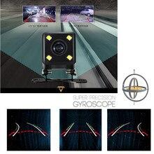 Ночного видения рулевого управления динамический наведением парковочная линии заднего вида CCD Камера сзади Len 135 градусов широкоугольный объектив Водонепроницаемый IP67