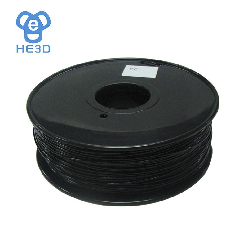 natural color 3d printer filament PC(Polycarbonate) 1.75mm/3mm 1kg plastic Rubber Consumables Material 1kg 100% natural