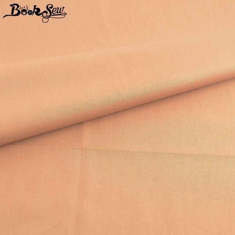 Booksew 100% Katoen Twill Stof Meter Donkerbruin Doek Telas DIY Quilts Baby Laken Naaien Ankara Patchworks Jurk Tissu