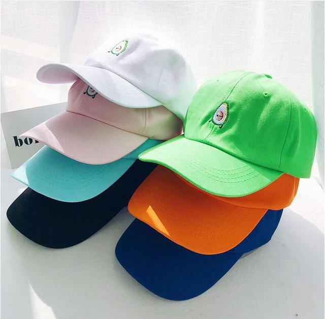55a683eb656 2018 new Vegan Hat Food Lover Cotton AVOCADO dad hat Baseball Cap For Men  Women Hip Hop Snapback Cap Bone Garros Snapbacks