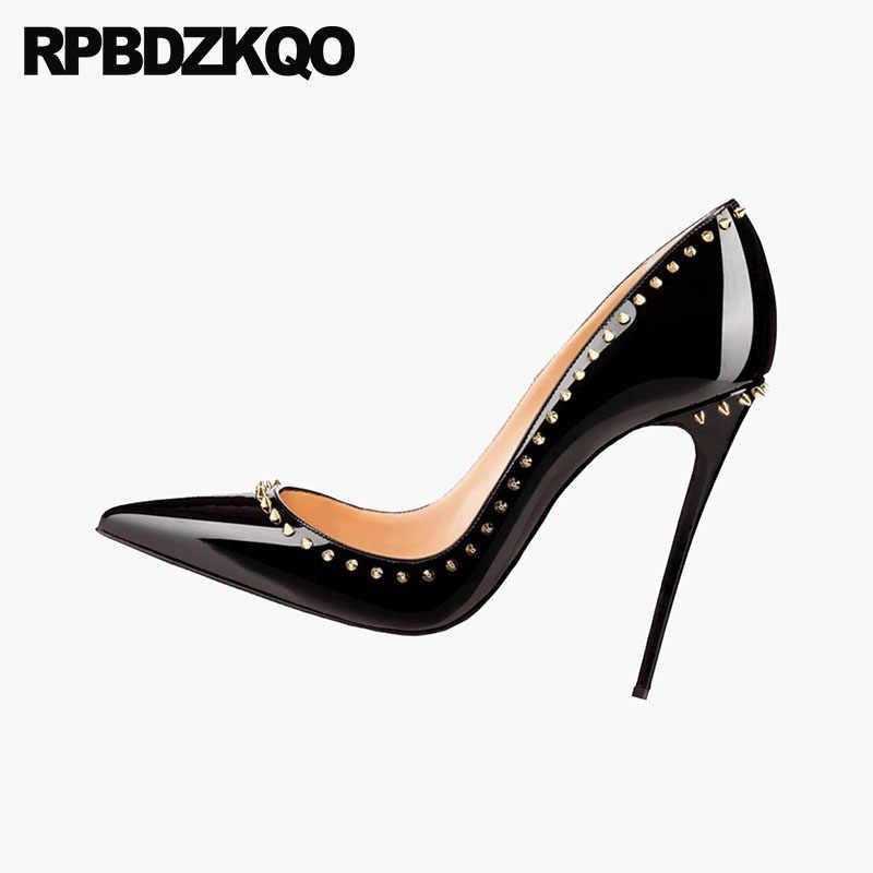 Pointed Toe Italian Pumps High Heels
