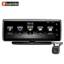 Bluavido 8 Inch 4G Car DVR font b camera b font GPS FHD 1080P Android Navigation