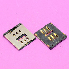 YuXi 100% New SIM card reader socket holder tray slot module connector for iphone5 5G.