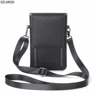 New PU Leather Casual Shoulder Small Backpack Fashion Phone Case Cover For ZTE Blade A602 X