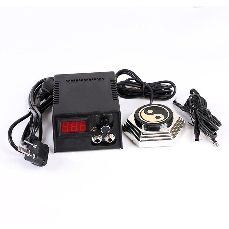 Tattoo Accessories Tattoos Tool Tatoo Supplies Digital Power Supply Voltage Stabilizer Foot Pedal Clip Cord Machines Kit Set