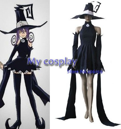Anime Soul Eater Cosplay soul Eater Cosplay Blair mujeres traje de ...