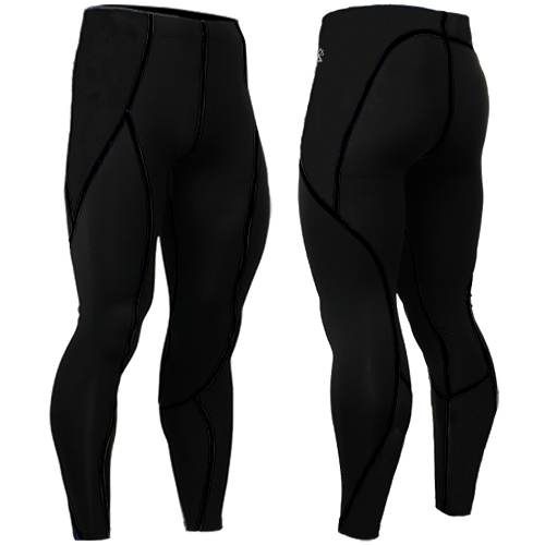 2017 Mens Compression Tights Tight Skins Running Run Fitness Excercise riding clothes Bicycle Bike Pants Gear size s-4xl