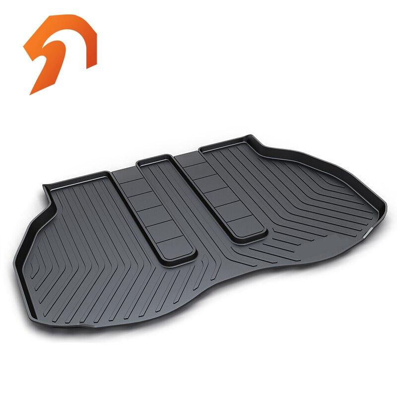 Revêtement de coffre arrière en caoutchouc revêtement de coffre tapis de sol pour Toyota ALPHARD 30 CHR tapis de sol