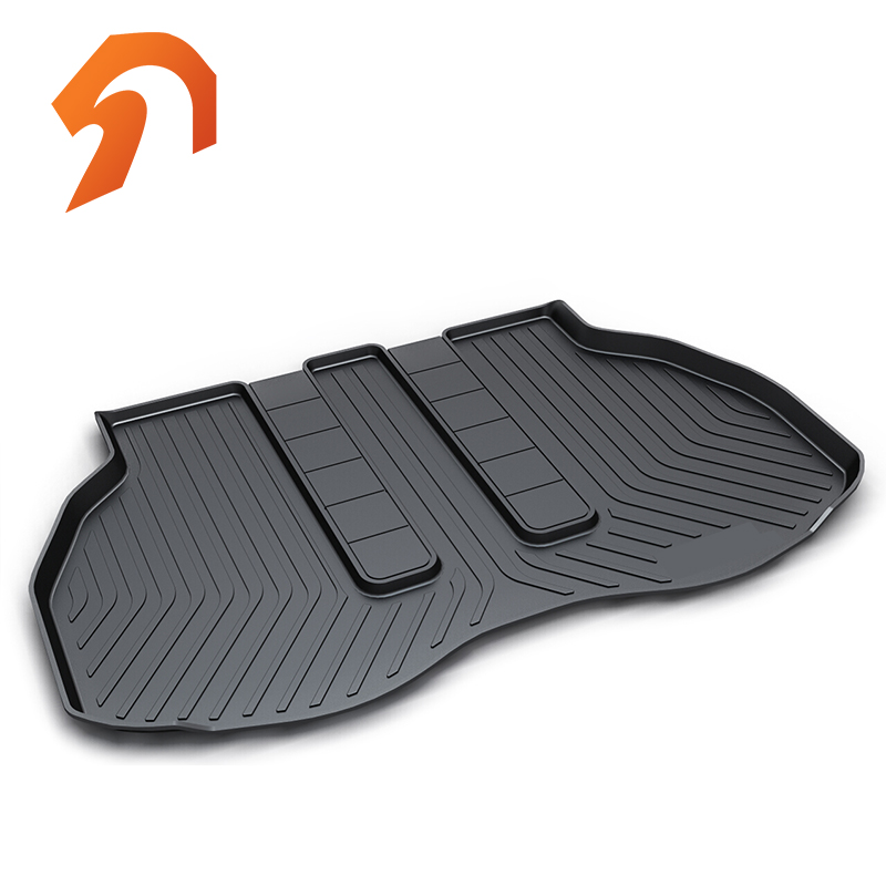 Rubber Rear Trunk Cover Cargo Liner Trunk Tray Floor Mats For Toyota ALPHARD 30 CHR Carpet Liner Mats custom fit car trunk mats for nissan x trail fuga cefiro patrol y60 y61 p61 2008 2017 boot liner rear trunk cargo tray mats