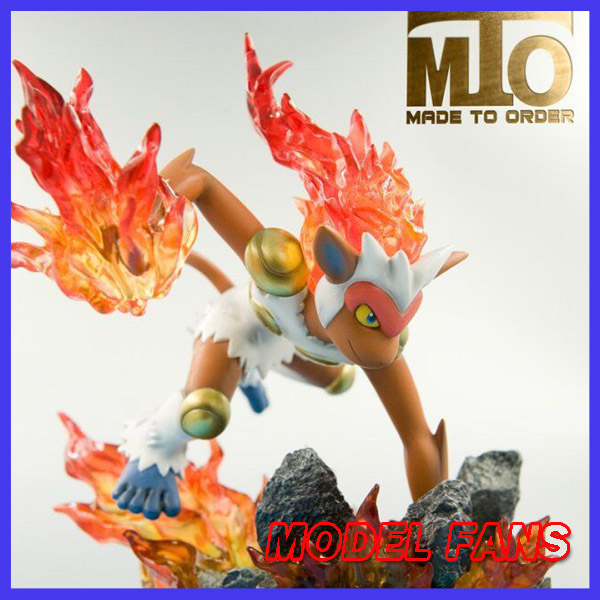 US $270 75 5% OFF|MODEL FANS IN STOCK MTO 16cm Pocket Monsters Infernape GK  resin made toy figure for Collection-in Action & Toy Figures from Toys &