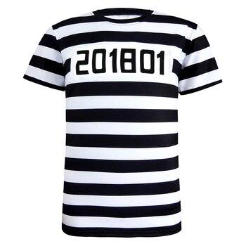 Police Pilot Pirate Tuxedo Prisoner 3D Funny T Shirt16