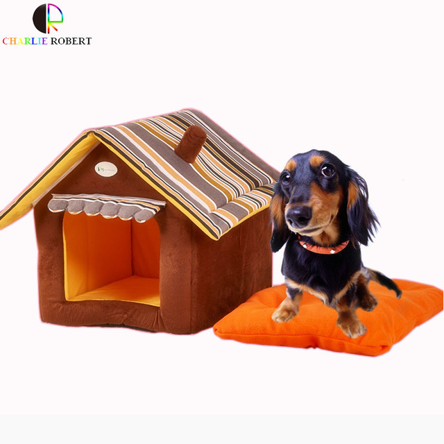 Hot Ontworpen Hond Bed Zachte Hondenkennel Hond Huis Voor Kleine Huis Ren Kat Puppy Thuis Shape