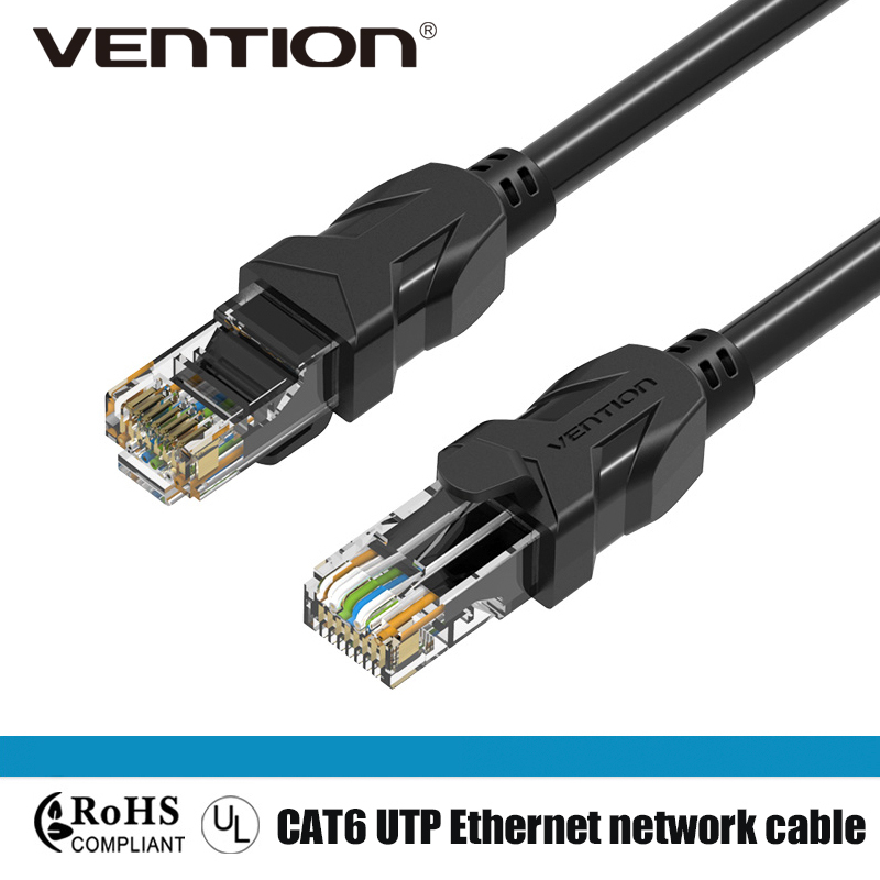 Vention Cat6 RJ45 Cable Ethernet Patch Cable Network Cable For Computer Router 75cm 1m 2m 3m 5m 8m 10m 15m 20m 30m 40m Lan Cable freeshipping 3m 5m 10m 15m 20m 30m polycom polycom hdx hdci hd lens cable hawkeye special cable