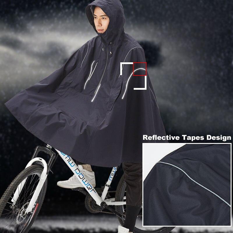 QIAN Undurchlässig Regenmantel Frauen/Männer Licht Nahtlose Fahrrad Regen Poncho Nylon/TPU/Atmungsaktive Stoff Frauen Wasserdicht Regen getriebe