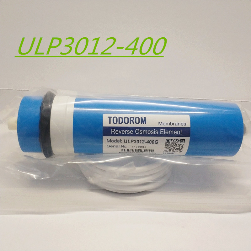 400 gpd reverse osmosis filter 3012-400 Membrane Water Filters Cartridges ro system Filter Membrane +5m Hose 1/4 300 gpd water filter ro booster pump for reverse osmosis drinking water