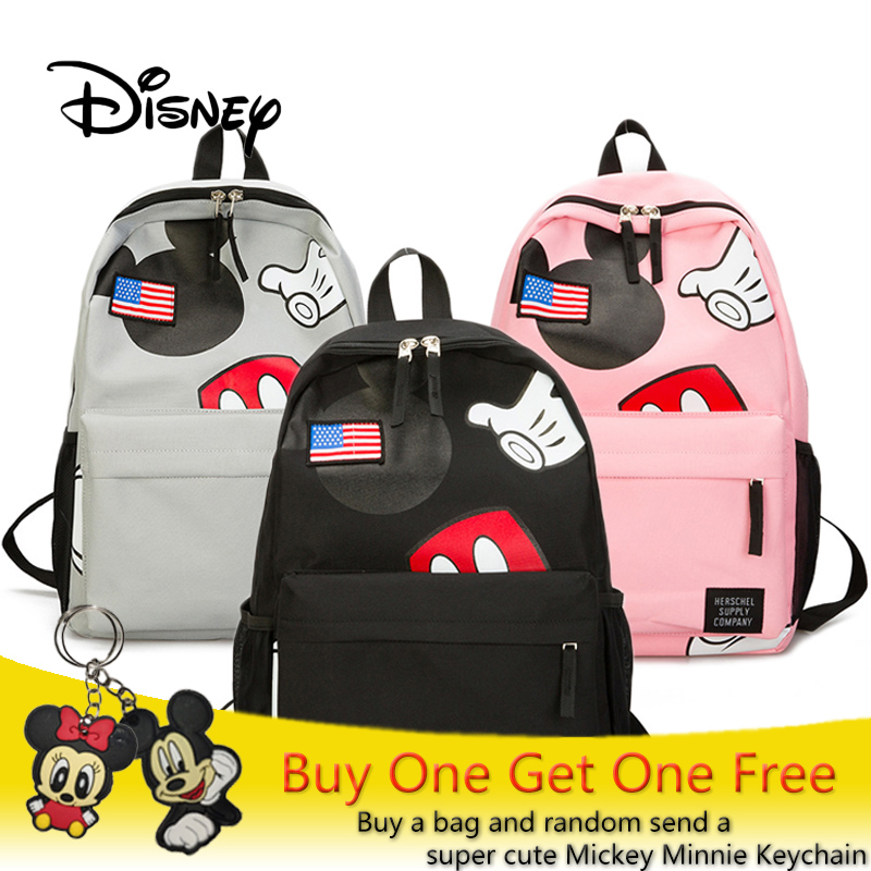 2018 Disney Mickey Mouse Bag Plush Backpack