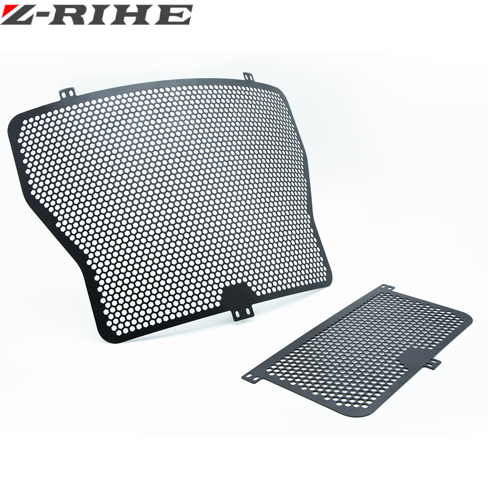 New Aluminum Radiator and Oil Cooler Guard Cover Protector Grille for BMW HP4 S1000RR 14-16 S1000R XR 13-16 S1000R 2013-2016 motorcycle radiator protective cover grill guard grille protector for kawasaki z1000sx ninja 1000 2011 2012 2013 2014 2015 2016