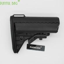 Adult gift toy gun accessories butt nylon butt M4 gel ball blaster gun nylon post vltorplay rear ar15 tactical accessories KI15