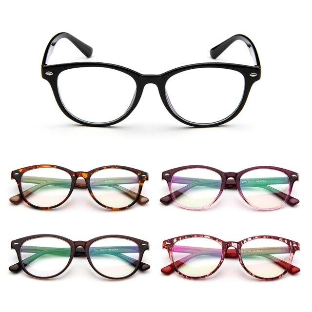 New Fashion Retro Frame Eyeglasses Full-Rim Men Women Vintage Glasses Eyewear Clear Lens New 2018