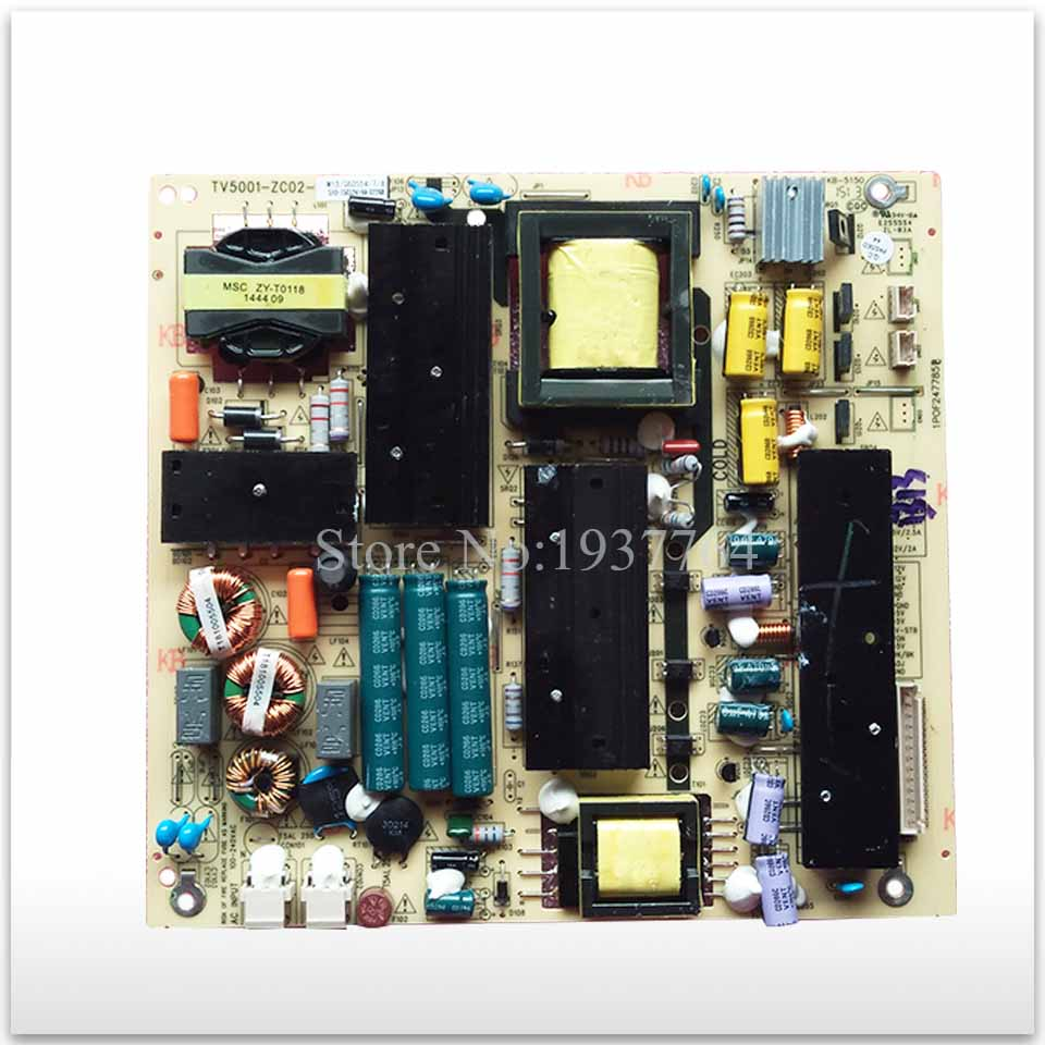Original power supply board LE50D8810 TV5001-ZC02-01 E202404 KB-5150 used good working good working original used for power supply board led 42v800 le 42tg2000 le 32b90 vp168ug02 gp power board