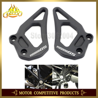 Foot Rest Foot Pegs Heel Plates Guard Protector For BMW R1200GS LC Adventure 2013 2014 2015 2016 R1200 GS Motorcycle Accessories