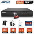 ANNKE 8CH 1080P Lite 1080N HD TVI H.264+ DVR for CCTV Security Camera System with 1TB HDD