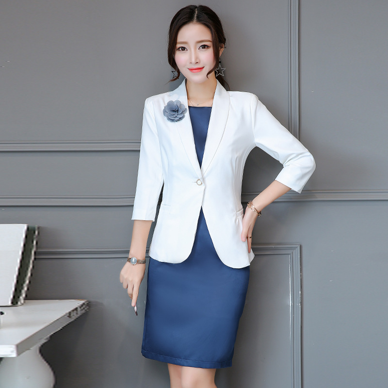 Tool Organizers Women Business Suits With Skirt And Jacket Sets Work Wear Uniforms Ol Styles Elegant Business 2 Piece Sets Soft And Light