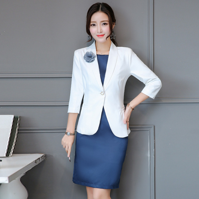 Women Business Suits Formal Office Suits Work Fashion Elegant Skirt