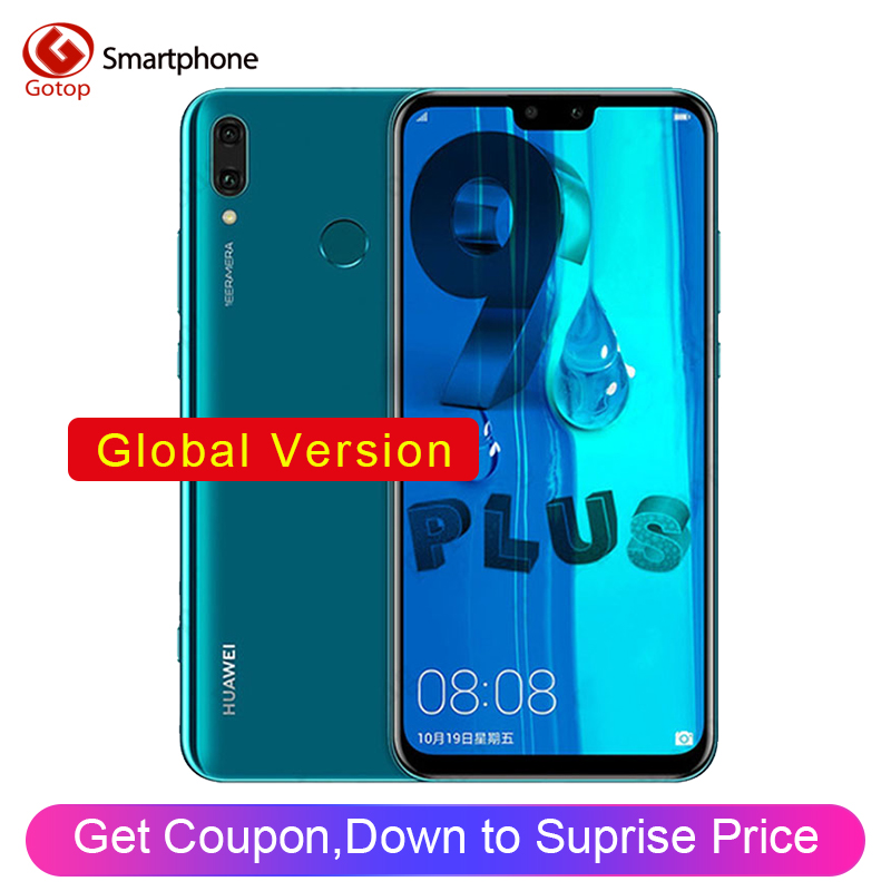 Huawei Y9 2019 Enjoy 9 Plus Dual SIM 4000mAh Battery Smartphone 6.5 inch Hisilicon Kirin 710 Octa Core 16MP 4 Camera Cell Phone smartphone
