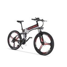 26 дюймов Электрический горный велосипед 48V400W EBIKE Электрический вспомогательный велосипед мягкий хвост emtb 40 км/ч