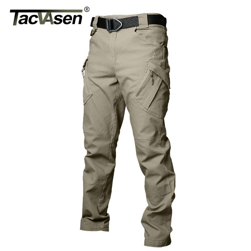 TACVASEN IX9 Males Tactical Pants Multi Pockets Cargo Pants Autumn Navy Fight Pants Informal Cotton Trousers SWAT Clothes Cargo Pants, Low cost Cargo Pants, TACVASEN IX9 Males Tactical Pants...
