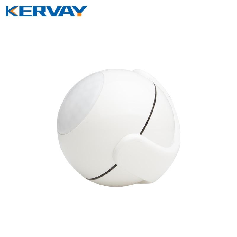 imágenes para Kervay Zwave PIR Motion Sensor Compatible con onda Z 300 series y 500 series Z Sistema de Automatización del Hogar Inteligente Sensor