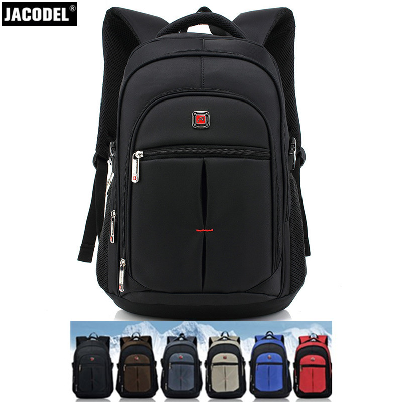 Jacodel Men Backpack 15.6 15 14 13 Inch Laptop Backpack for Computer Notebook Bag Casual Unisex Travel School bags for students large 14 15 inch notebook backpack men s travel backpack waterproof nylon school bags for teenagers casual shoulder male bag