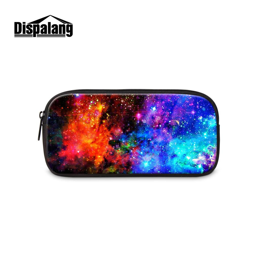 Colorful Outer Space Cosmetic Bags Girl Case Women Pretty Make Up Organizer Storage Customize Design Pouch Traveling Makeup Box in Cosmetic Bags Cases from Luggage Bags