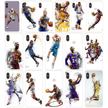 192H Basketball Russell Westbrook Curry Soft Silicone Tpu Cover phone Case for xiaomi redmi 6 pro 5 plus note 6 pro 4 4x mi 8