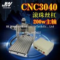 CNC гравировальный станок ЧПУ кадров ЧПУ DIY 3040 алюминиевого сплава шариковый винт