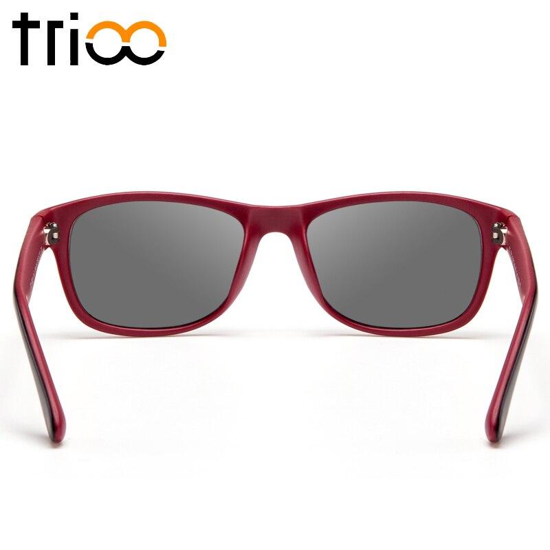 TRIOO Absolvent 0,25 zu 12 Frauen Sonnenbrille Rezept Objektiv Gläser UV400 Myopie Weibliche Sonnenbrille Brillen Zubehör - 4
