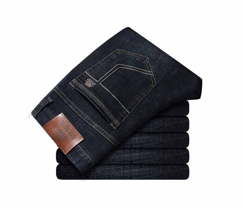 2020 Дизайнерская одежда джинсы для мужчин высокое качество деловые повседневные